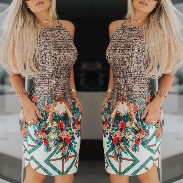 Summer, retro style, Office, Dresses