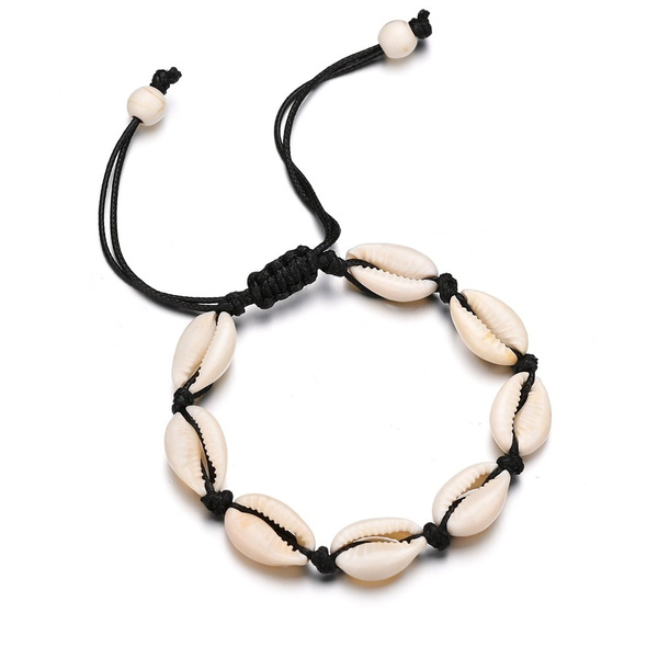 knittedbracelet, originality, individuality, shells