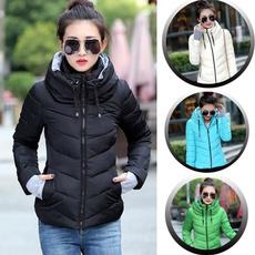 Fashion, warmcottoncoat, cottonpaddedjacket, winter coat
