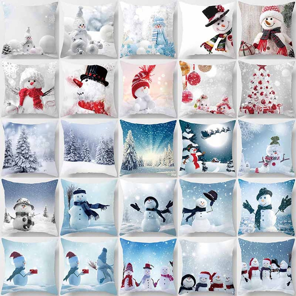 snowman, Fashion, Christmas, Sofas