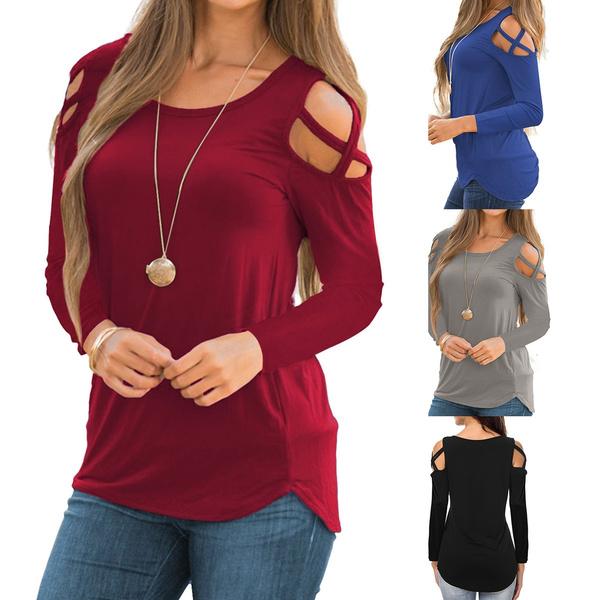 Plus Size, tunic, Shirt, Long Sleeve