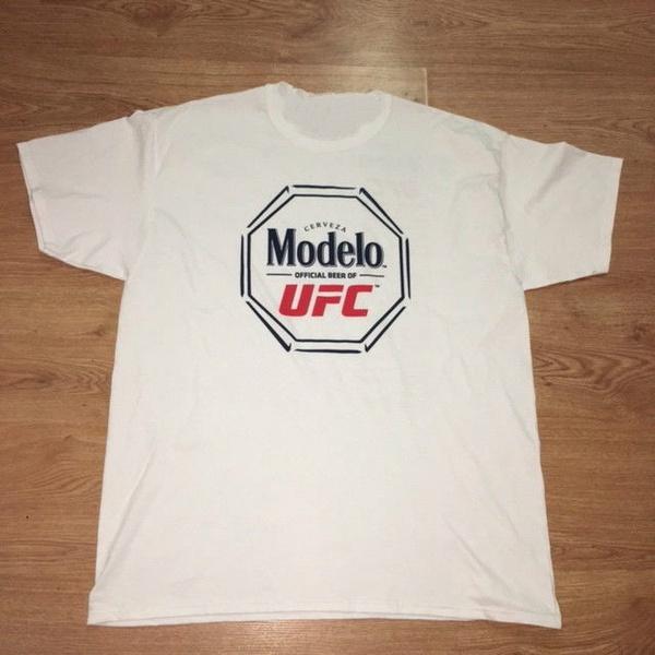 Modelo Cerveza Logo Tee Shirt White