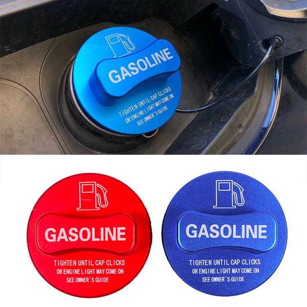 Diesel red Alloy Gasoline Diesel Fuel Tank Cap Cover Trim for Mercedes Benz A//B//C//E//S//CLA//GLK//GLC Class W204 W205 W212 W213 W176 W222 X253