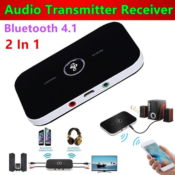 B6 Wireless Bluetooth Audio Transmitter Receiver HIFI Music Adapter AUX RCA