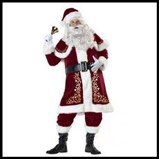 christmasfatherprint, christmascosplaycostume, Christmas, Cosplay Costume