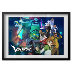 voltrongift, art, Home Decor, canvaspainting