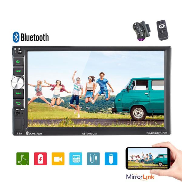 2 Din Car Multimedia Player Audio 7