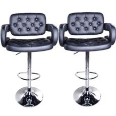 swivel, adjustablechair, foldingstool, leather