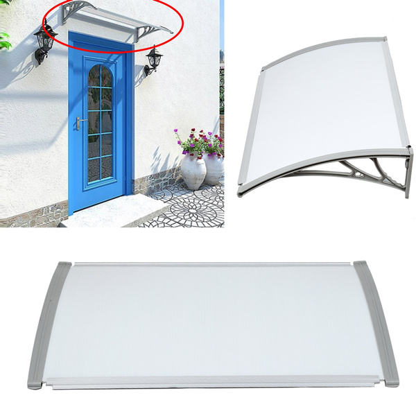 Výsledok vyhľadávania obrázkov pre dopyt Shelter Porch Front Rain Roof Back Patio Outdoor Shade Cover Door Window Canopy Awning