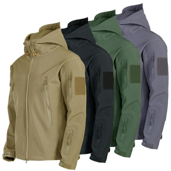 Fleece, waterproofjacket, Hunting, Army