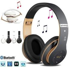 Heavy, Headset, Earphone, Bass