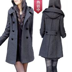 woolen, womancoat, Winter, Coat