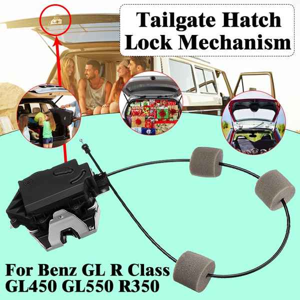 Tailgate Trunk Lift Door Hatch Lock Actuator For Mercedes Benz GL550 R350 ML350