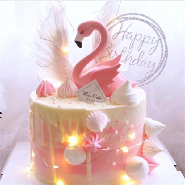 flamingo, caketopper, dessertmold, Party Supplies