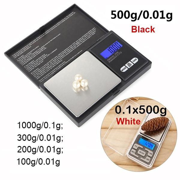06bf9ace62ef 0.01g/0.1g Mini Pocket LCD Display Digital Scale Jewelry Gold Vanilla Tea  Weighting Tool
