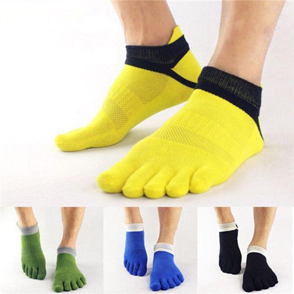 cute, Cotton Socks, fivefingersock, toesocksformen