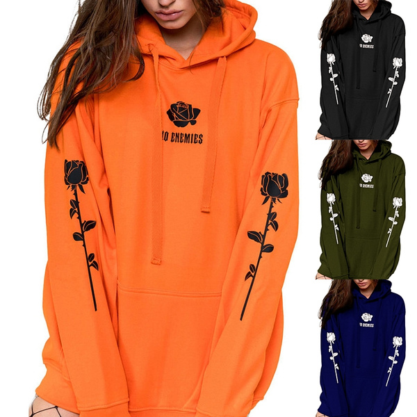 Plus Size, Sleeve, Long Sleeve, Fashion Hoodies