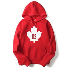 Canada, hooded, leaf, Men