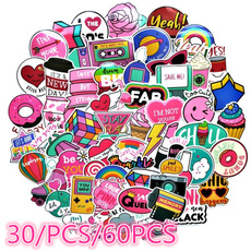PVC wall stickers, cute, Toy, Computers