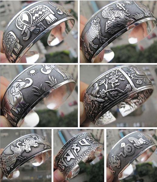 Jewelry, Gifts, tibetsilverbangle, Bracelet