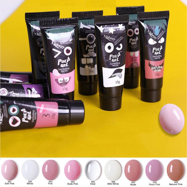 polygel, fingerentension, led, nailuvbuildergel