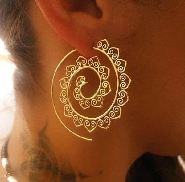 ethnicearring, Silver Jewelry, Dangle Earring, 925 sterling silver