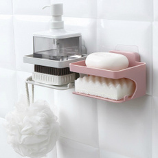Bathroom, soapholder, sucker, drainbox