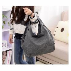 women's shoulder bags, women bags, Canvas, Totes