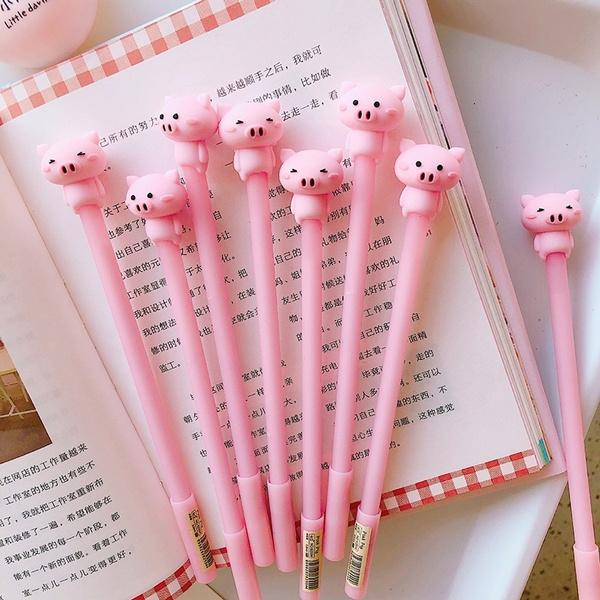 Kawaii, cute, officeampschoolsupplie, pink