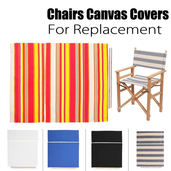 Terrific Recreation Casual Director Chair Cover Stool Protector Replacement Canvas Seat Covers Kit Back Cover Seat Cover Creativecarmelina Interior Chair Design Creativecarmelinacom