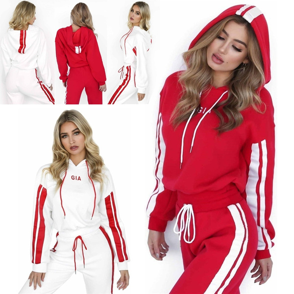 Fashion, women track suit, pants, hoody tracksuit