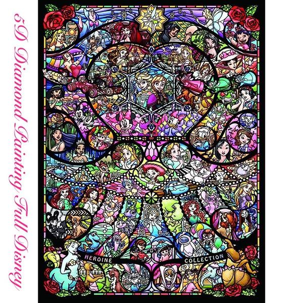 100 Full Diamond Painting 5d Diy Singer Cross Stitch Craft