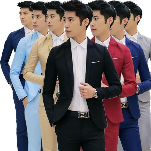 mens underwear, manssuit, Spring, loosecoat