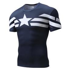 Sport, Superhero, tshirt men, aaptainamerica