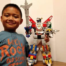 Mini, Toy, buildingblockstoy, Robot