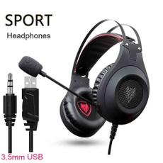 Headset, Microphone, earphonemusicheadphone, led