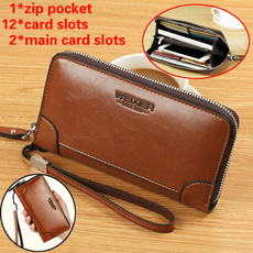 Clutch/ Wallet, leather wallet, cluthwallet, Capacity