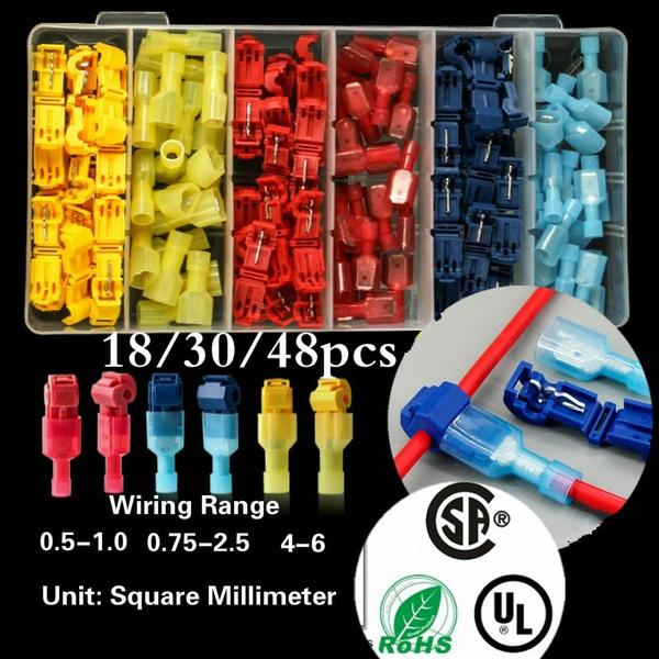electricalwire, splice, lockwireterminal, quicksplicewireconnector