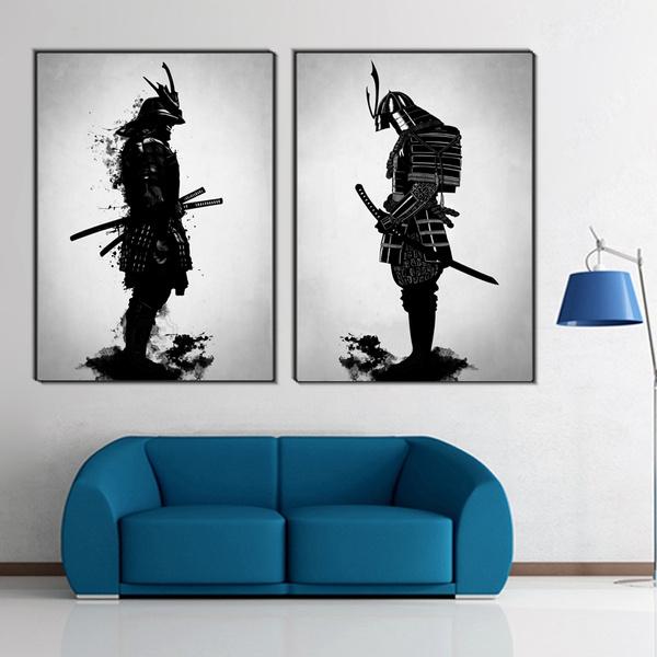 Samurai Abstract Japanese Art