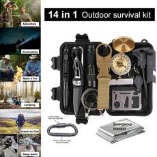 Outdoor, camping, campinggearkit, emergencysurvivalkit
