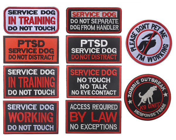Access Required Psychiatric Service Dog Service Dog vest patch