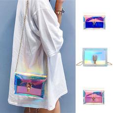 jellybag, womenstransparentbag, Pvc, Messenger Bags