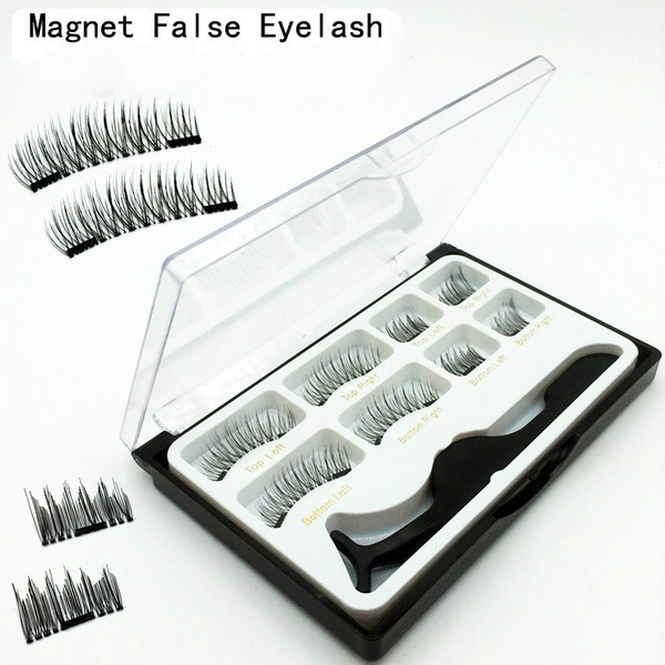 5b97631c1d4 8x Magnetic Eyelashes [No Glue] Premium Quality False Eyelashes ...