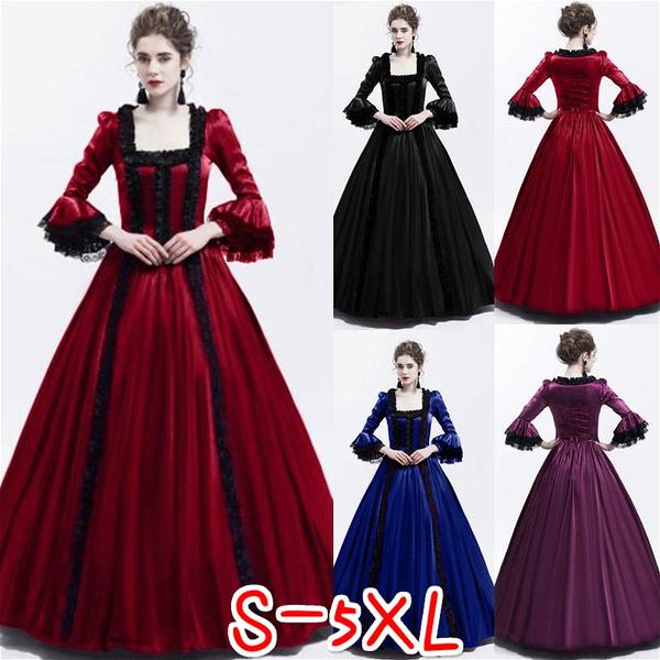 Fashion Women Renaissance Marie Antoinette Theatrical Victorian ...