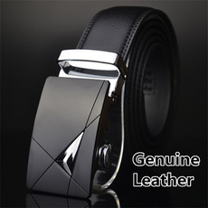 Leather belt, mens belts luxury, leather, Buckles
