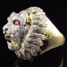 Sterling, Head, Fashion, wedding ring