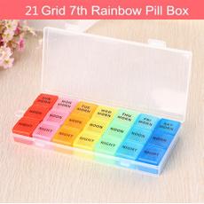 Box, case, pillcase, detachable