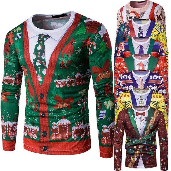 christmaspresent, Gifts, uglychristmassweater, Slim Fit