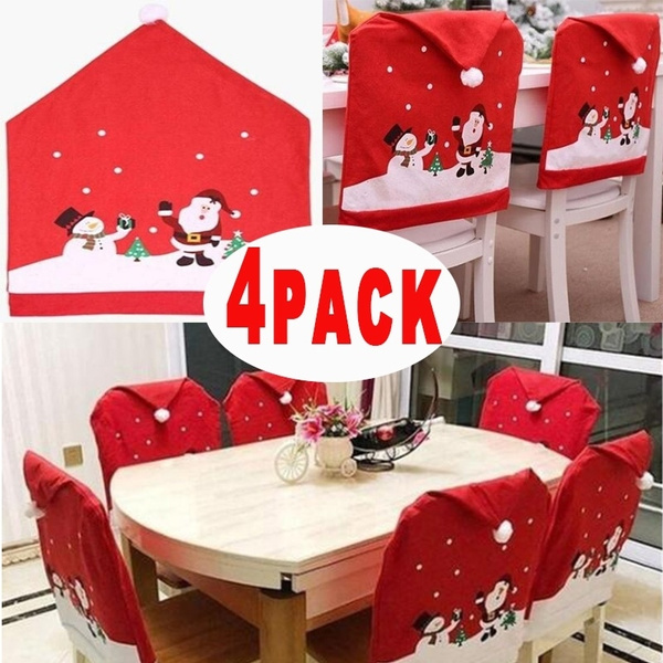 decoration, Home Decor, Cover, christmaschaircover