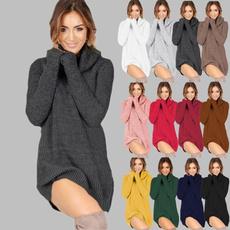 knitwear, Plus Size, sweater dress, Winter